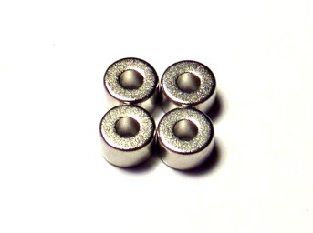 Магниты с никелевым покрытием